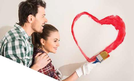 идеи за боядисване на стени